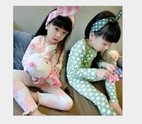 children's clothing wholesale Korean manufacturers selling children Home Furnishing plus velvet suit