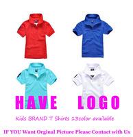 2014 Summer Kids brand T shirt Boys And Girls Fashion T shirt Chidren 100% Net Cotton Tees Baby t shirt Retail!! Free Shipping