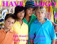 1pcs retail 2014 brand t shirt for boys girls kids brand t-shirt children classic brand tops baby tees short sleeve 13color