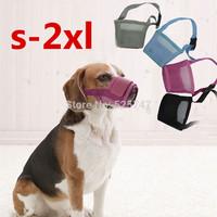 Portable 100%cotton Basket Adjustable Dog  Muzzle Mask Cage Safety Mouth Mesh Supplies New training & behaviour aids S-XL