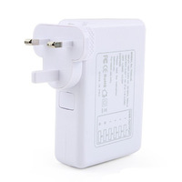 6 USB Port Wall Charger with UK Standard plug for iPhone Samsung