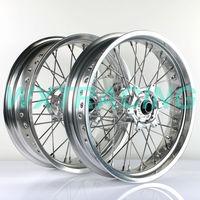 17'' WHEEL RIM SET KTM EXC SX SXF 125 150 250 450 530 HUSABERG FE/FC SILVER