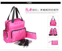 Korean Fashion High capacity Multifunction Backpack Mummy bag Oversized package to be produced Travel bag  14112001