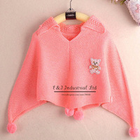 2014 Fall New Fashion Chirstmas Girls Sweaters Wool Infant Sweaters Kids Clothes SW41112-7^^EI
