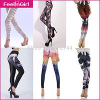 Plus Size 2XL Women Pencil Pants Girls Stretch High Waisted Legging Trousers Autumn Winter Slim Skinny Pantyhose Leggings 2