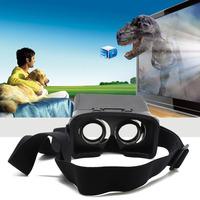 New Professional 3D Glass Google VR Plastic Edition Head Mount 3D Virtual Reality Glasses Oculus Rift Google Glass Cardboard