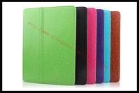 New Super Slim Flip Leather Case For Ipad Air 5 Smart Retina display wake and sleep Free Shipping 1 pcs