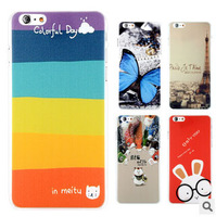 100% High quality anti-scratch shockproof SUPER Thin matte cartoon protective back cover case for APPLE IPHONE PLUS 5.5 INCH