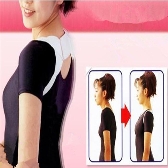 Adjustable Back Therapy Shoulder Posture Corrector Support Braces Supports Corretor De Postura Corretivo for Girl Student Child(China (Mainland))