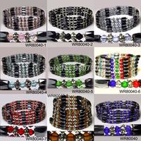 Christmas Gift!! Random Sending , Wholesale Women Bracelet Magnetic Wrap Bracelet , Semi precious stone Bracelet