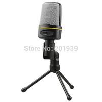 3.5mm Studio Speech Mic Microphone Micphone Stand for Skype Desktop PC Notebook