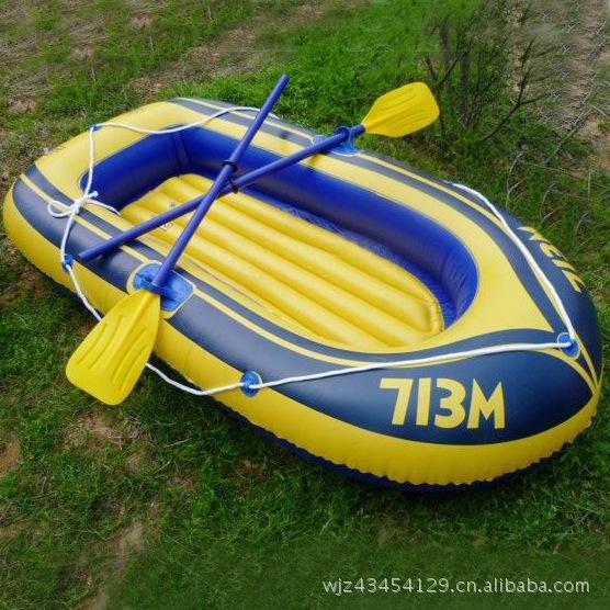 PVC inflatable boat fishing boat drifting boat inflatable kayaks(China (Mainland))