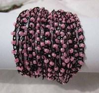 New Fashion Elegant Women Fashion  Weave Bead Bangles Hot Selling   Wholesale  Free Shipping
