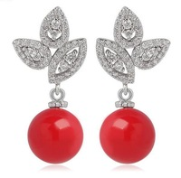 crystal drop earrings for women fashion jewelry for women gift for wife wholesale jewelry women accessories drop shipping