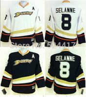 Youth Anaheim Ducks Hockey Jerseys #8 Teemu Selanne Jerseys ice hockey jersey