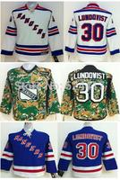 Youth New York Rangers Hockey Jerseys #30 Henrik Lundqvist Jersey Cheap Jerseys
