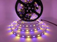 LED Strip SMD 5050 RGBW 12V Non-waterproof Flexible light RGB+White / Warm White colorful strip lighting,5m 300LEDs 60Leds/m