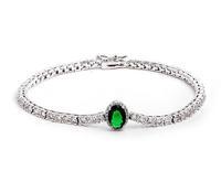 sweet CZ stone bracelet & bangles for women charm bracelet sliver plated bracelet high quality gift for wife drop shipping M842