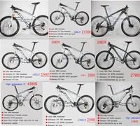High collocation LOOK BIKE 26ER29er COMPLETE mountain mtb bike look 986 with groupset  bar wheels fork saddle Hot sale