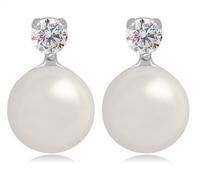 silver ball earrings crystal stud earrings earrings for sale earrings for girls rhinestone earrings statement stud earring M842