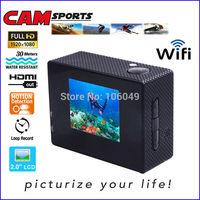 WiFi HD 1080P sport camera sport DV action DV action camera motorcycle helmet car camera dvr sport camera