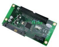 """Free shipping 29pin SAS To 3.5"""" IDE HDD + 2.5"""" 3.5"""" SATA HDD adapter  SAS Male to 40Pin IDE + 7Pin SATA converter card"""