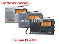 Original TECSUN PL-600 Digital Radio Full Band FM/MW/SW/SBB/AIR/PLL Dual Conversion&SBB Portable Radio Receiver 3colors PL600