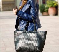 2014 new fashion knitted design shoulder bag / OL bag for women