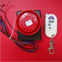 Free shipping Vibration Detector Sensor anti-theft Alarm for motorcycle and Electric motor car with wireless remoter