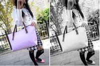 2014 new fashion Korean style Oracle bone script impressed shoulder bag / OL bag for women