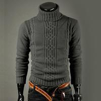 M-4XL Casual Sweater Men Pullovers 2014 Brand winter warm Knitting long sleeve Knitwear mens Sweaters