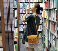 2014 new fashion candy color shoulder bag / message bag for women