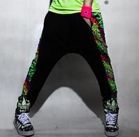 DJ-46 Two way wear Casual Women joggers Hip hop pants Fashion Sport pants women Sweatpants Harem pants Street dance wear