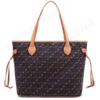 30PCS FREE SHIPPING New High Quality colorful print women big shoulder bag handbag #MHB015