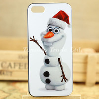 Snowman cute cartoon characters hard phone case cover for iphone 5 5S I5T0497