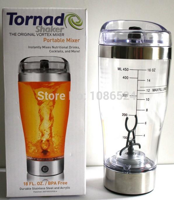 Vortex portable protéines, mélanger, multi.- fins mélangeur mélangeur tornado piles 450ml l'agitation tasse. hy01 livraison gratuite