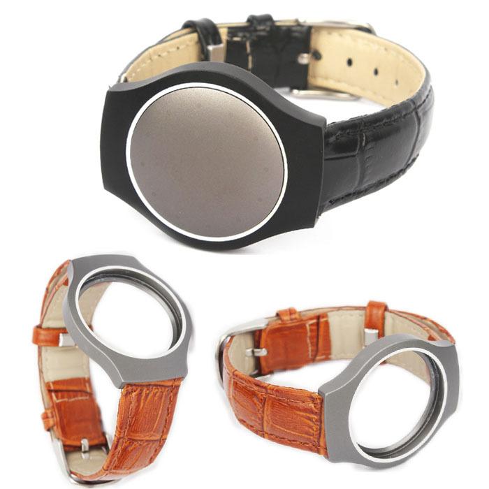Selljimshop Leather Band For Misfit Shine Bracelet Activity Sleep Monitor Wristband Freeshipping(China (Mainland))