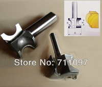 2pcs Finger Nail Type router bits 1/2x7/8 inches (11.1mm Radium) for  Arc Router Bits, half round bits Free Shipping