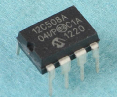 PIC12C508A-04I / P DIP8