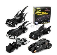 5pcs/set DC Tomica Limited TC Batman Metal Batmobile Collectible Model Toys Boy Gift Toy Free Shipping
