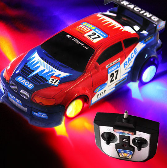 New Arrival Hot Sale Freeshipping Boy Toys Four Speed Drift Toy Remote Control Racing Car Tyre With Lights(China (Mainland))