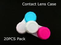 20pcs Mini Pocket Contact Lens Case Box Holder Free shipping