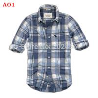 hot sell ! 2014 Men's Shirts Brand cotton Men's long sleeve shirt fashion shirt for young men Free shipping
