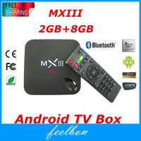 Quad-Core TV BOX MXIII-2 Android 4.4 2GB/8GB 2.4/5GHz Dual Wifi XBMC Amlogic S802