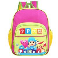 New Design Mochila Pocoyo Cartoon School Bag,children's bags Backpacks boy and girl Cut Schoolbag Kids gift