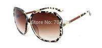 Wholesale Retro UV-protection women polarized sunglasses European and American style G204