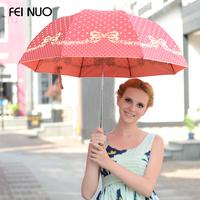 Fino bow Polo umbrella parasol umbrellas UV umbrella folding umbrella creative cute free shipping