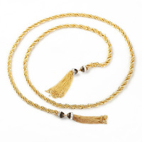 Euro-American Christmas gift Statement Exaggerated costly tassel Pendant Accessories necklace for women Fashion Jewelry JZ111024