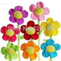 Promotion 40 cm,Sunflower cartoon plush toys, 8 kinds of color combination, multi-purpose lowest price
