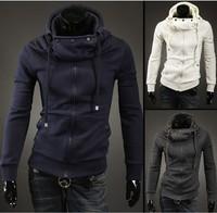 2014 new men fashion brand assassins creed casual men's fleece hoodies sweatshirts male high quality jackets free shipping